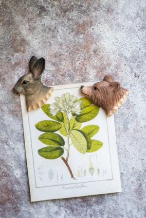 Tiere des Waldes Magnet